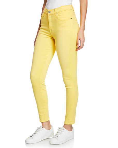 7 For All Mankind Jeans HIGH-RISE ANKLE SKINNY JEANS