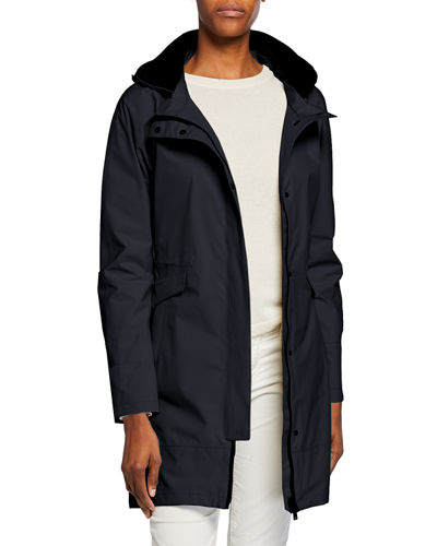 2-Layer Parka w/ Removable Hood