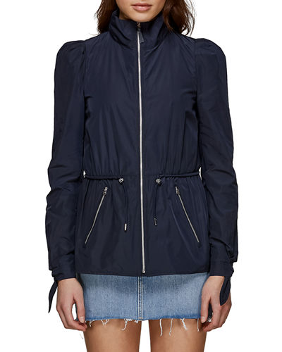 Paige Packable Windproof Rain Jacket