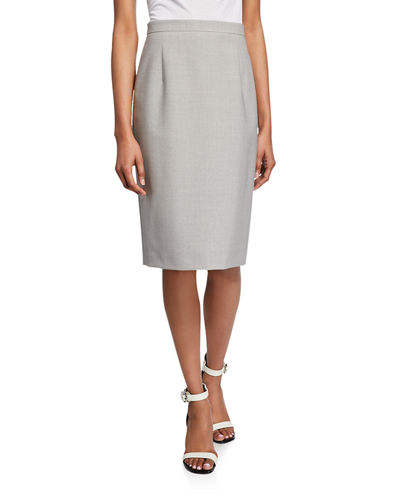 120664fd14 Quick Look. Theory · Hemdall Good Wool Suiting Pencil Skirt