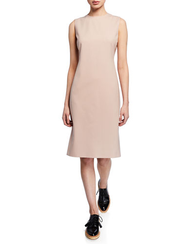 Eano Sleeveless Good Wool Suiting Dress