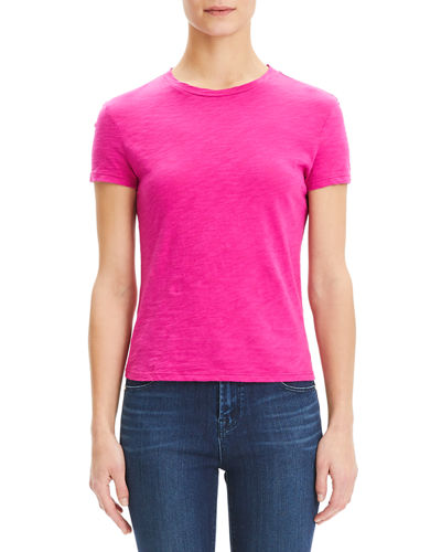 Theory Tiny Tee 2 Nebulous Organic Cotton Top