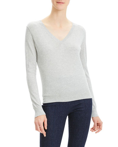 Cotton Fitted & Ribbed Top