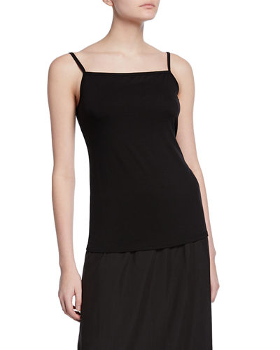 Square-Neck Jersey Camisole