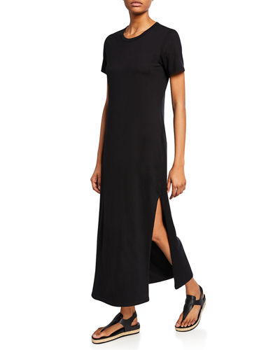 Alana Crewneck Short-Sleeve Dress