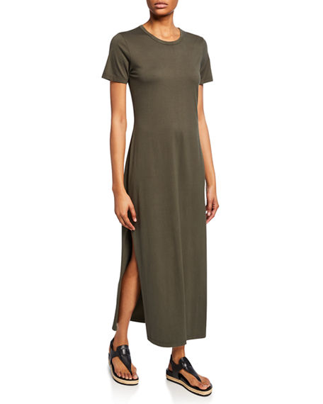 Ag Dresses ALANA CREWNECK SHORT-SLEEVE DRESS