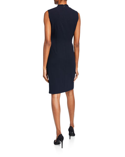 Elie Tahari Elodie Sleeveless Sheath Dress