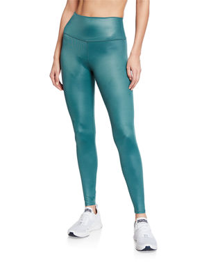 08f81cdf64 Alo Yoga High-Waist Shine Airbrush Active Leggings. Favorite. Quick Look