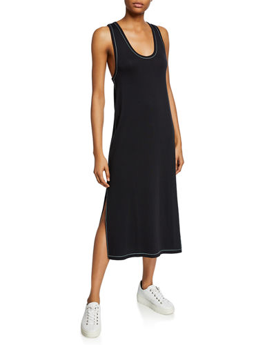 Marlon Scoop-Neck Tank Dress