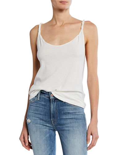 The Twisted Scoop-Neck Tank