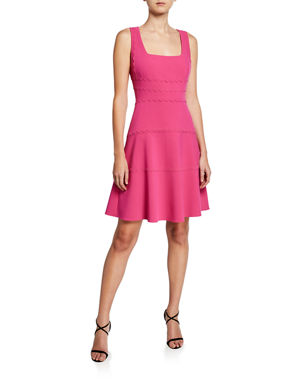 f2cd8823f2a5c Kobi Halperin Michaela Sleeveless A-Line Crepe Dress