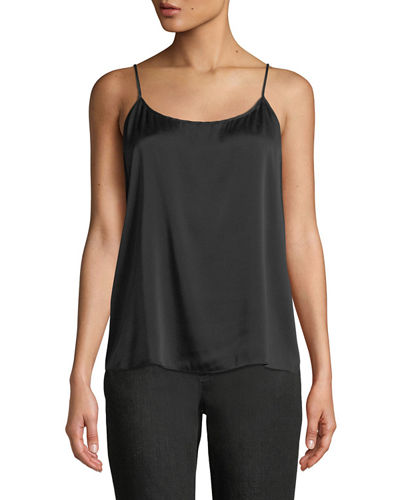 Silk Charmeuse Cami Top