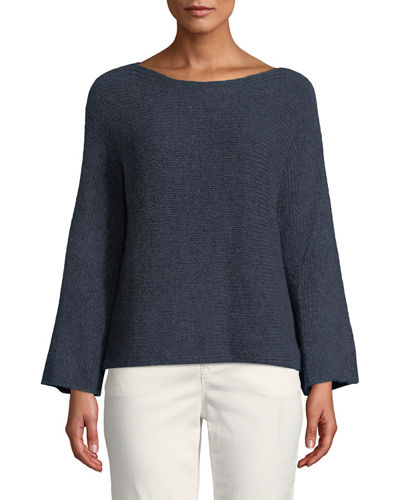68356ffe30dc0 Eileen Fisher Midnight Pullover Top