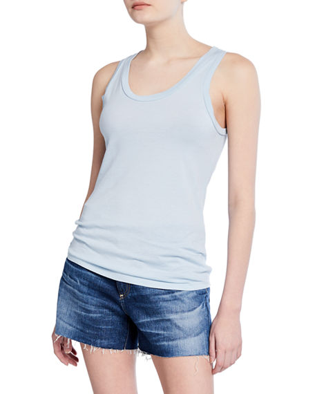 Ag Tops CAMBRIA SCOOP-NECK TANK