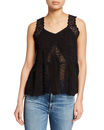2465eb117f Quick Look. Johnny Was · Harper Eyelet Tank