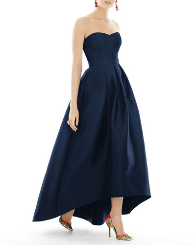 85870854e779 High Low Hem Gown | Neiman Marcus