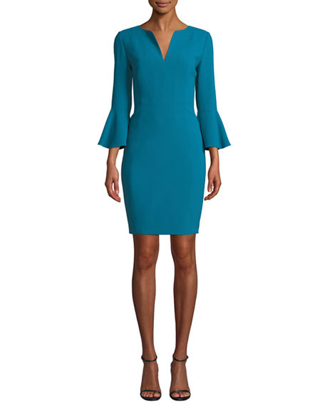 Elie Tahari Dresses Natanya 3/4-Sleeve Sheath Dress