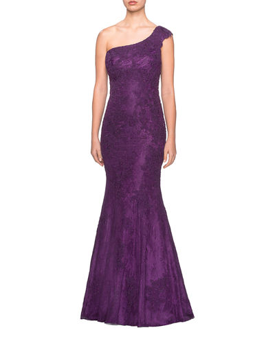 579205ed Purple Gown | Neiman Marcus
