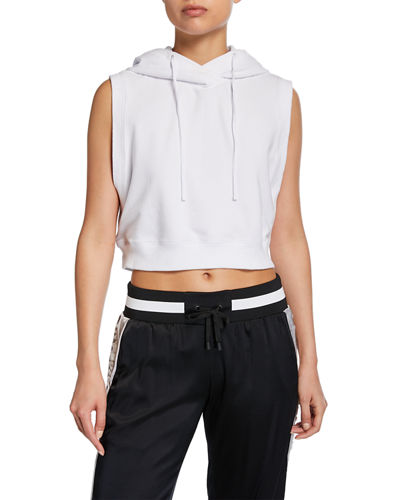 Cropped Active Hoodie