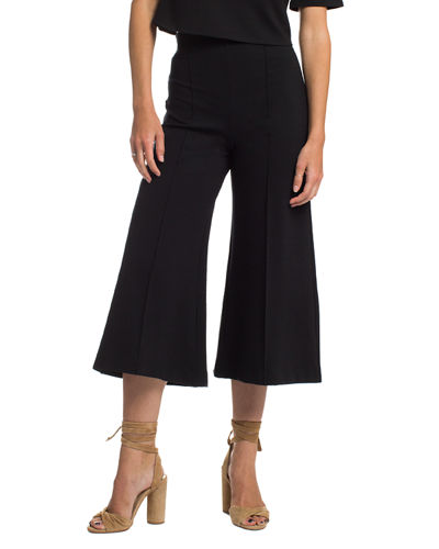 Plus Size High-Rise Ponte Culottes