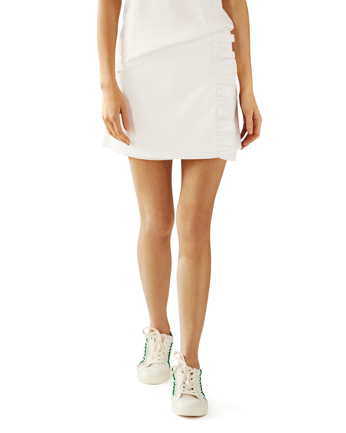 Tory Sport Tops TECH TWILL SNAP GOLF SKORT