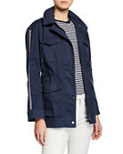 ATM Anthony Thomas Melillo Cotton Twill Field Jacket
