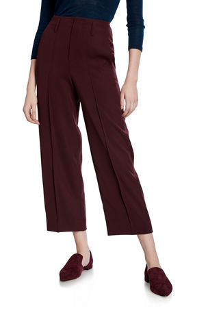 Vince Straight-Leg Crop Pants