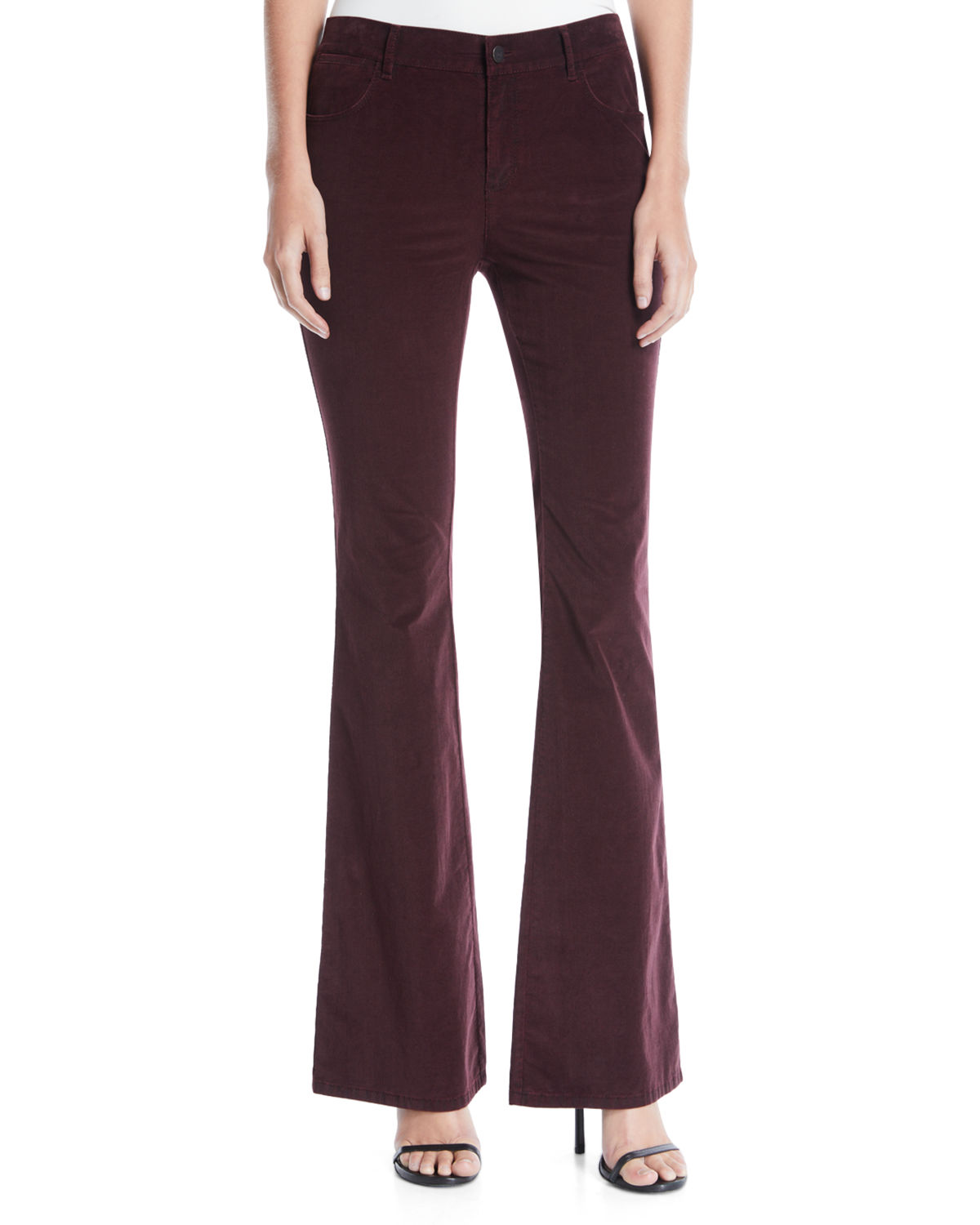 Lafayette 148 Pants MERCER CURATED CORDUROY FLARED PANTS