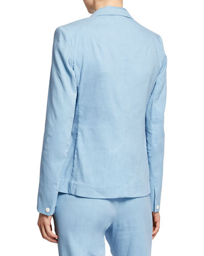 Rag & Bone Lucy One-Button Blazer