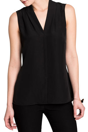 NIC+ZOE Easy Day To Night V-Neck Sleeveless Top