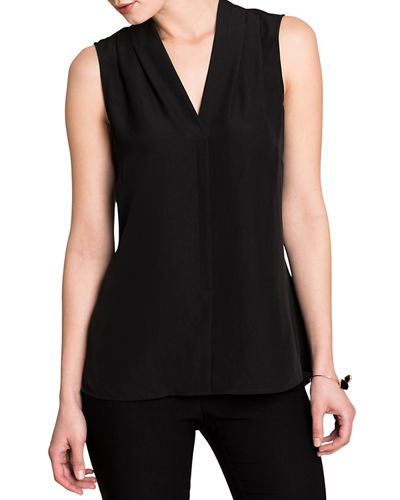 Easy Day To Night V-Neck Sleeveless Top