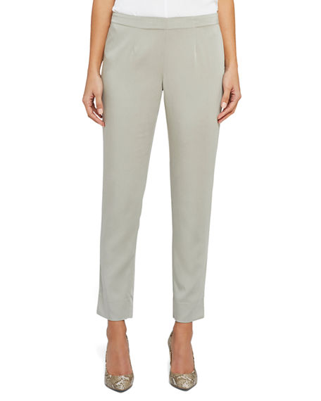 NIC+ZOE Sleek Pull-On Ankle Pants