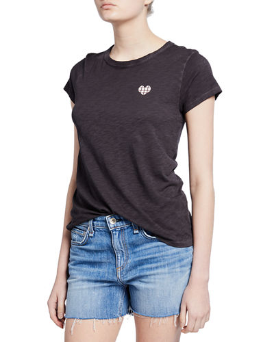 Heart Graphic Short-Sleeve Tee