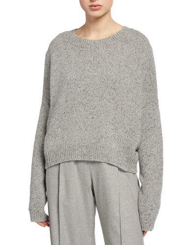 Cashmere Double-Seam Sweater