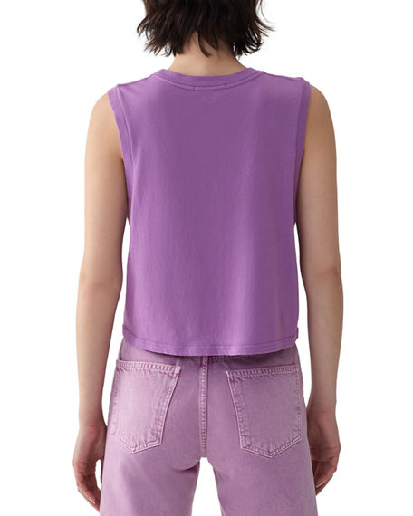 Image 3 of 3: AGOLDE Nocturne Cotton Muscle Tee