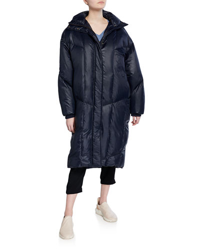 Oversized Quilted Puffer Coat