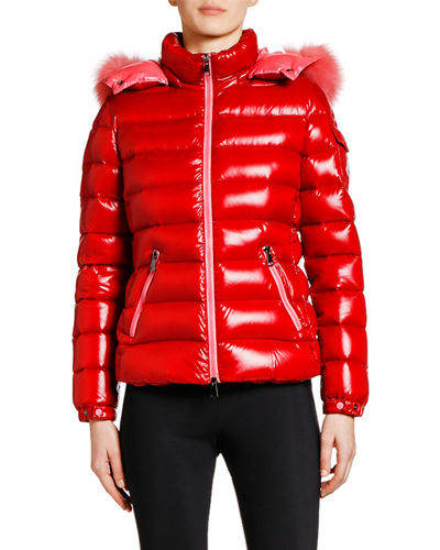 91f2357e8 Moncler Red Jacket | Neiman Marcus