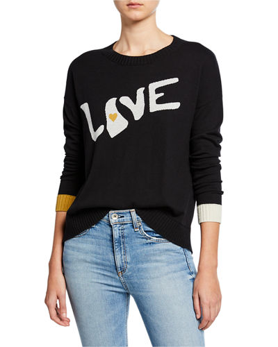 True Love Cotton/Cashmere Sweater