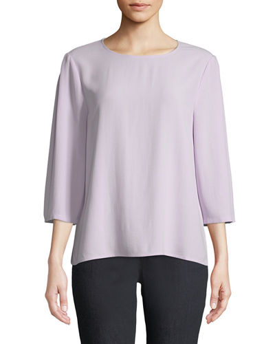 19f912f0eb1d44 Petite Eileen Fisher Top | Neiman Marcus