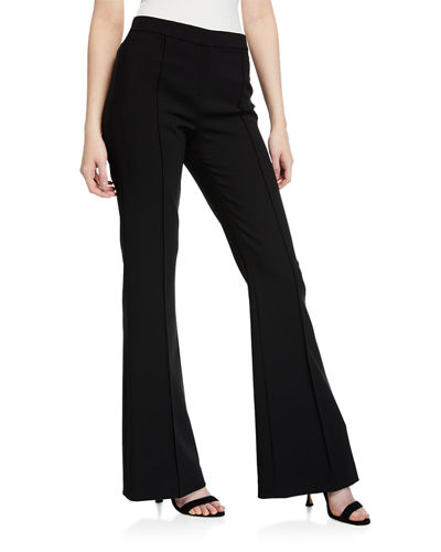 f1700bb0b4a62 High Waist Zip Front Pants | Neiman Marcus