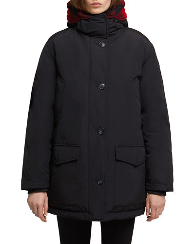 Woolrich Reversible Down-Fill Hooded Parka