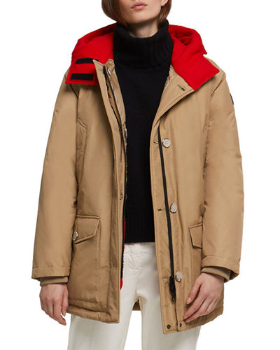 Reversible Down-Fill Hooded Parka