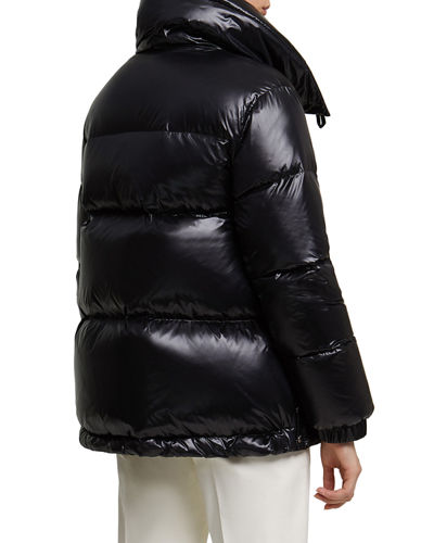 Woolrich Alquippa Channel-Quilt Puffy Jacket