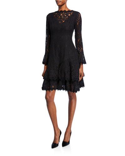 b1d06beb Black Lace Dress | Neiman Marcus