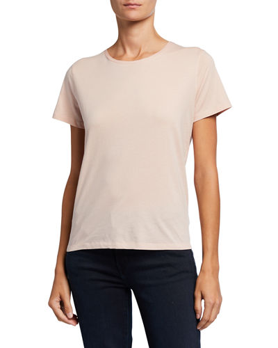 Silk Touch Short-Sleeve Crewneck Tee