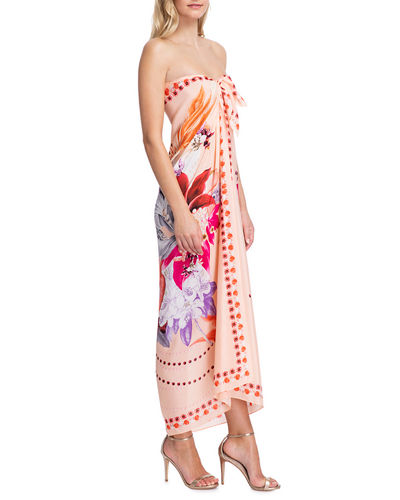 Gottex Paradise Printed Pareo Coverup