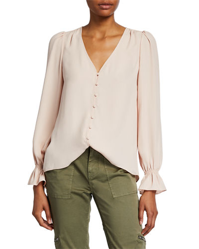 Bolona Button-Front Top