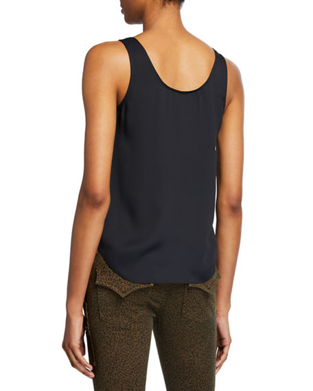 Image 2 of 2: Joie Caelen Scoop-Neck Tank