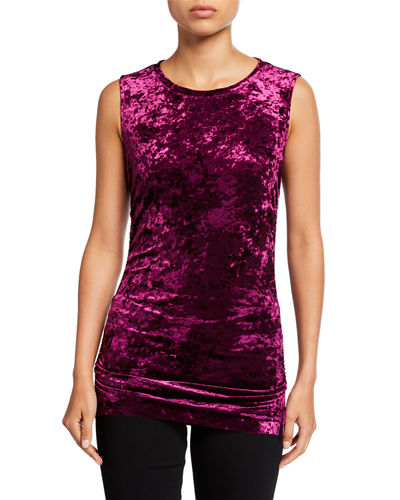 Blake Sleeveless Velvet Top