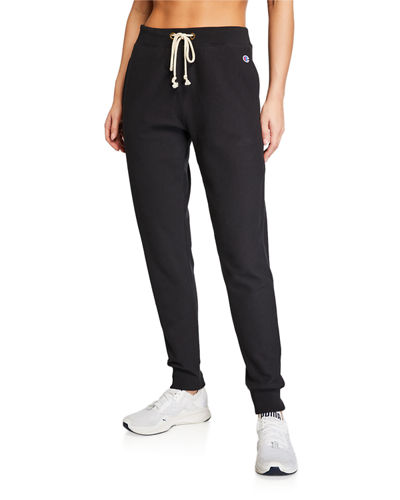 Champion Europe Reverse Weave Elastic-Cuff Drawstring Sweatpants